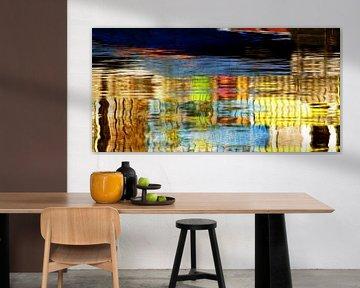 Aquarellfarben gelb von Yvonne Blokland