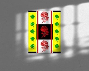 DOES Pop Art Lucky Roses von Doesburg Design