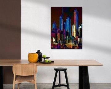 35. City-art, Abstract, stad O.