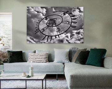 Lucht embleem von Tanja de Boer