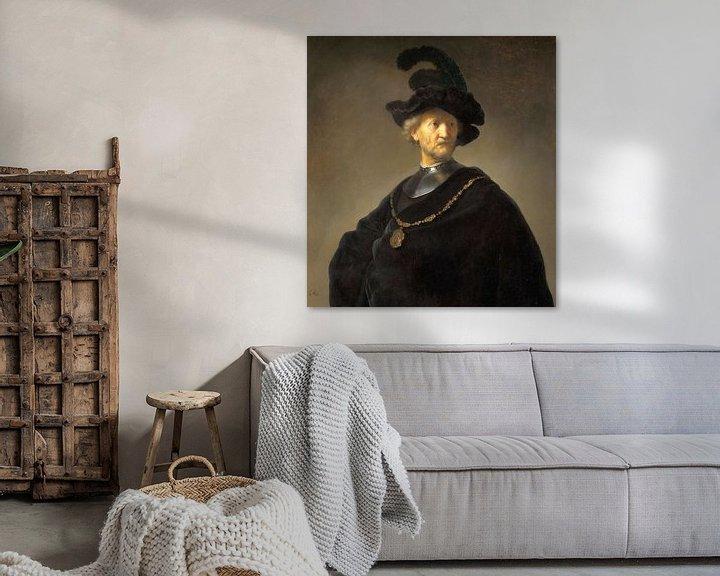 Beispiel: Portrait eines Mannes, Rembrandt