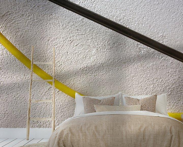 Impression: Accrocher la rampe murale de tuyau d'eau sur Jan Brons