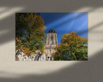 Toren van Lebuinuskerk in Deventer van Edo Koch