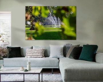 Muziektent Oranjepark Apeldoorn van Edo Koch