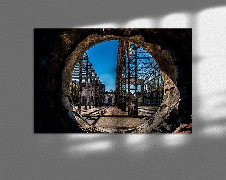 Sfeerimpressie: Doorkijkje oude fabriek van Elly Olsman