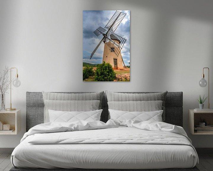 Sfeerimpressie: Windmolen in La Couvertoirade, een tempeliers stadje in de Aveyron van 7Horses Photography