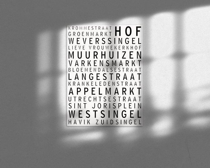 Sfeerimpressie: Amersfoort, bekende straten en pleinen van Maarten Knops