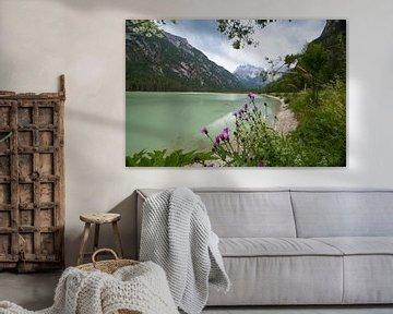 Italiaans meer Lago di Dobbiaco van Kristof Ven
