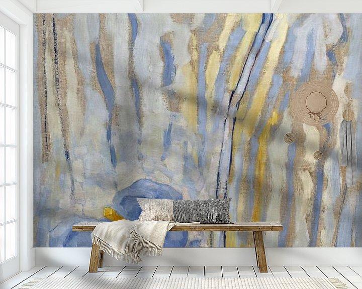 Beispiel fototapete: Blumen, Piet Mondrian