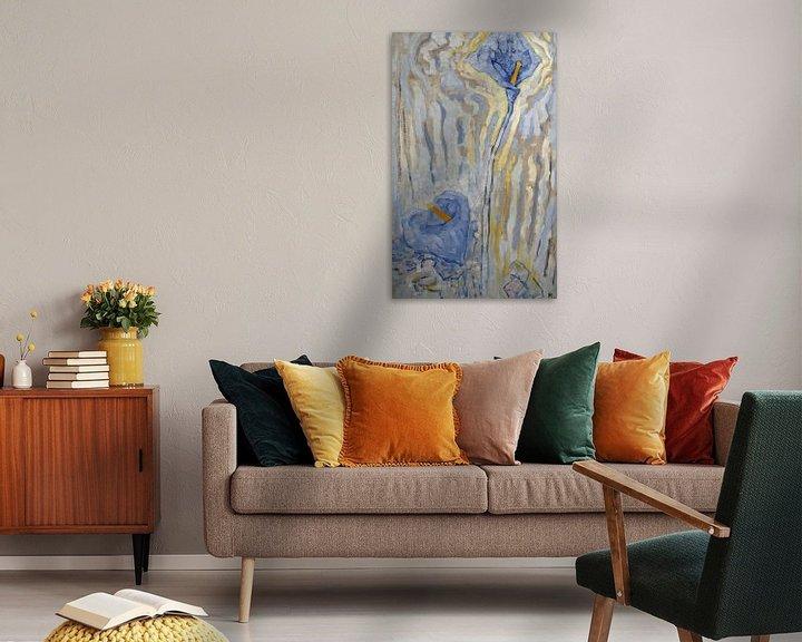 Beispiel: Blumen, Piet Mondrian