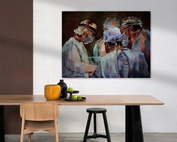 Peinture, 3 - Chirurgiens.