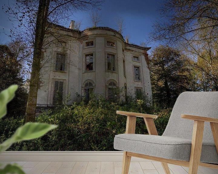 """Beispiel fototapete: Verfallene Herrlichkeit: """"The Chateau"""" von Wesley Van Vijfeijken"""