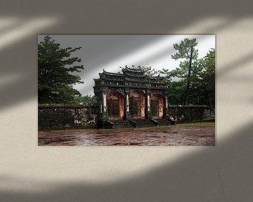 Huế: Tombe van Minh Mạng van Maarten Verhees