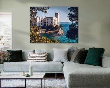 Miramare Castle (Trieste, Italy) van Alexander Voss