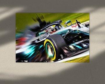 World Champion 2018 - Lewis Hamilton van Jean-Louis Glineur alias DeVerviers