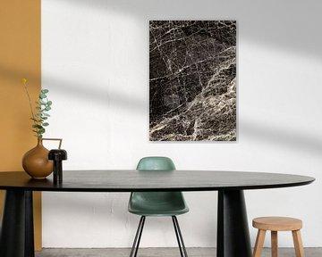 ABSTRACT BLACK & WHITE v1 von Pia Schneider