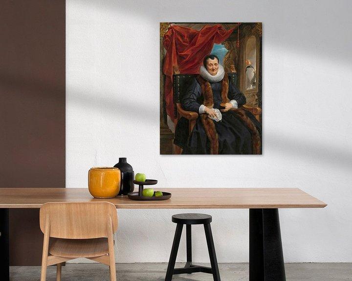Beispiel: Porträt von Magdalena de Cuyper, Jacob Jordaens