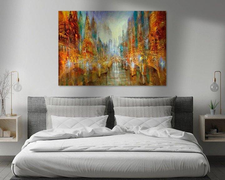 Beispiel: Lichterstadt von Annette Schmucker