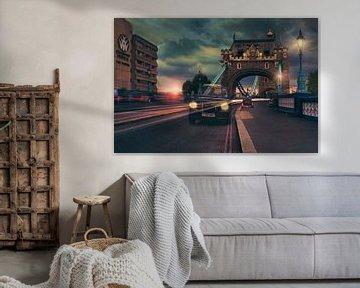 Die Tower Bridge in London von Elianne van Turennout