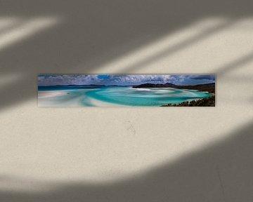 Whitsunday's Hill Inlet Panorama van Studio Wanderlove