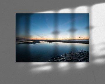 Zonsondergang Egmond aan Zee sur Dirk Sander