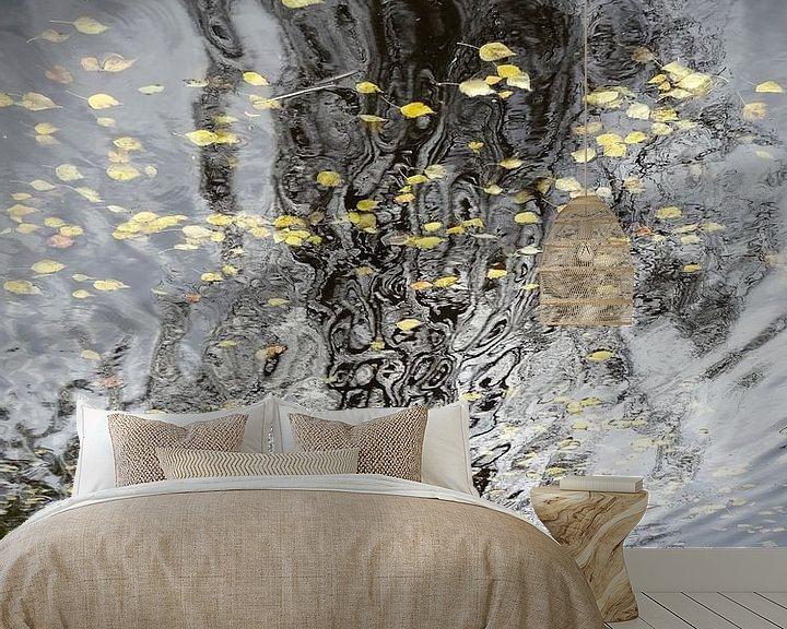 Sfeerimpressie behang: Urban Reflections 151 van MoArt (Maurice Heuts)