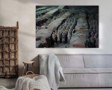 Terracotta army van Henk Langerak