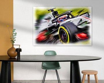 Romain Grosjean #8 van Jean-Louis Glineur alias DeVerviers
