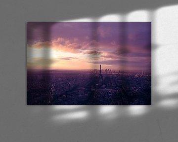 Eiffel Tower after storm van Jokingly Kama