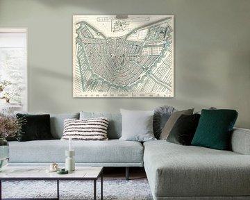 Amsterdam, historische plattegrond