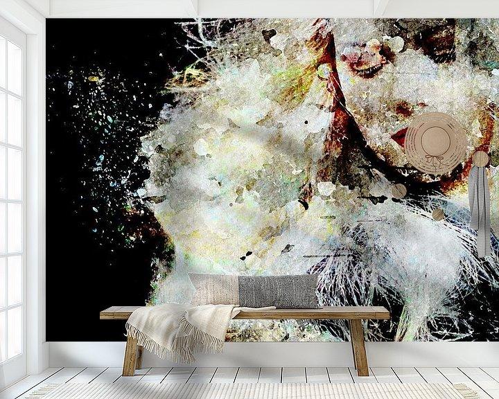 Beispiel fototapete: Wind in her hair von PictureWork - Digital artist