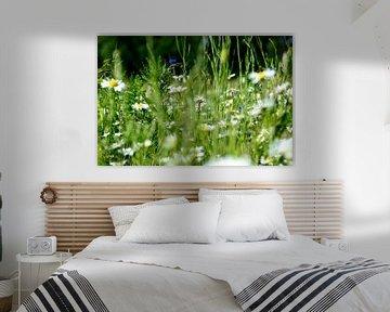 bloemenweide von Petra De Jonge