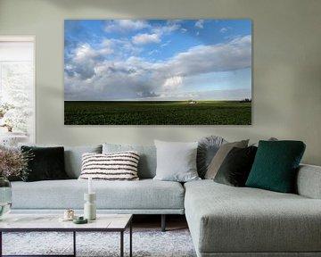 En het regent zonnestralen van Marnefoto .nl