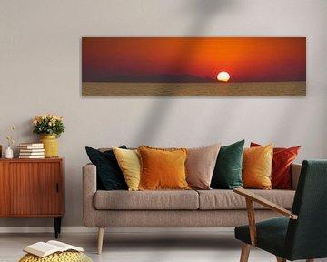 ondergaande zon von Karin Keesmaat Kijk-Kunst