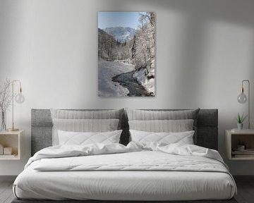 Winter in de bergen van Michael Valjak