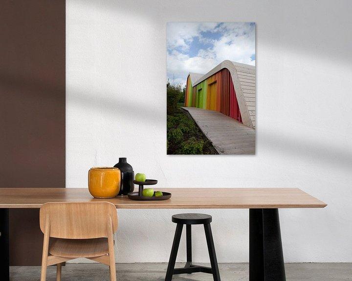 Sfeerimpressie: Kleuren paviljoen van Karin Keesmaat Kijk-Kunst
