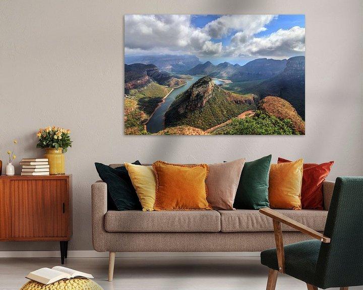 Sfeerimpressie: Blyde River Canyon in Zuid Afrika van Fotojeanique .