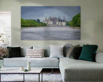 Kasteel Chambord aan de Loire in Frankrijk