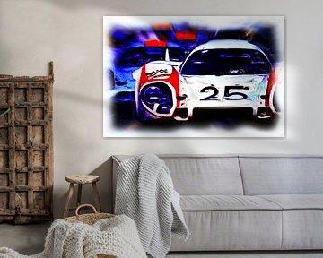 Le Mans - #25 versus #20 sur DeVerviers