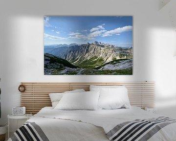 Dolomieten - Uitzicht bij Drei Zinnen van Martin Jansen