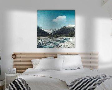 Bergbach Lombardei Italien von Dirk Wüstenhagen