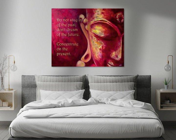 Beispiel: Buddha von Michael Ladenthin
