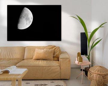 3/4 Mond (Rechteck) von Fotografie Jeronimo