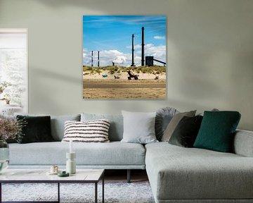 Strand en industrie von Peter Bouwknegt