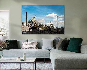 Industrie landschap hoogovens sur Peter Bouwknegt