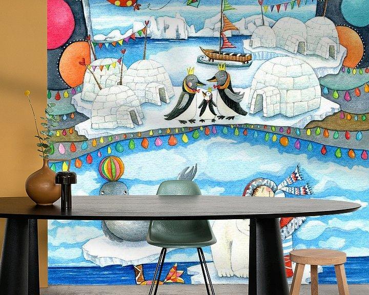 Beispiel fototapete: Eisland von Atelier BuntePunkt