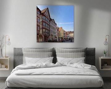 The Market Square of Wertheim van Gisela Scheffbuch