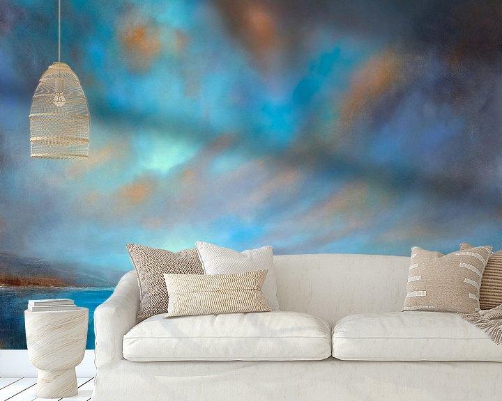 Beispiel fototapete: Blaue Weite von Annette Schmucker