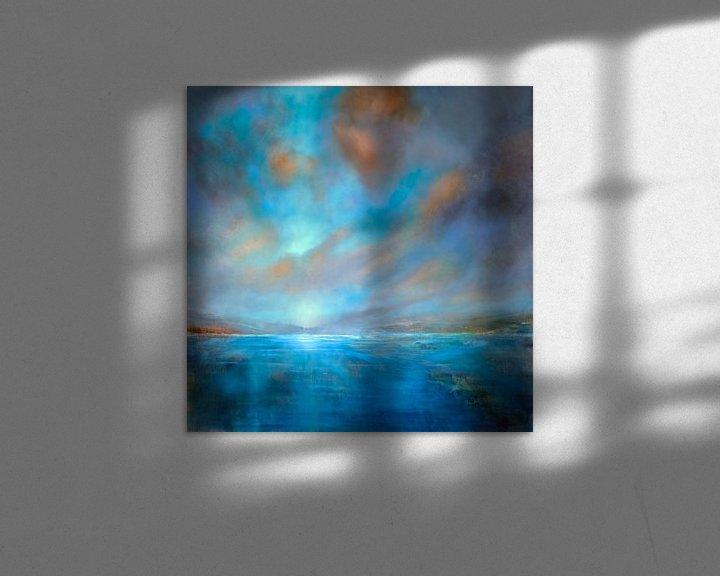 Beispiel: Blaue Weite von Annette Schmucker
