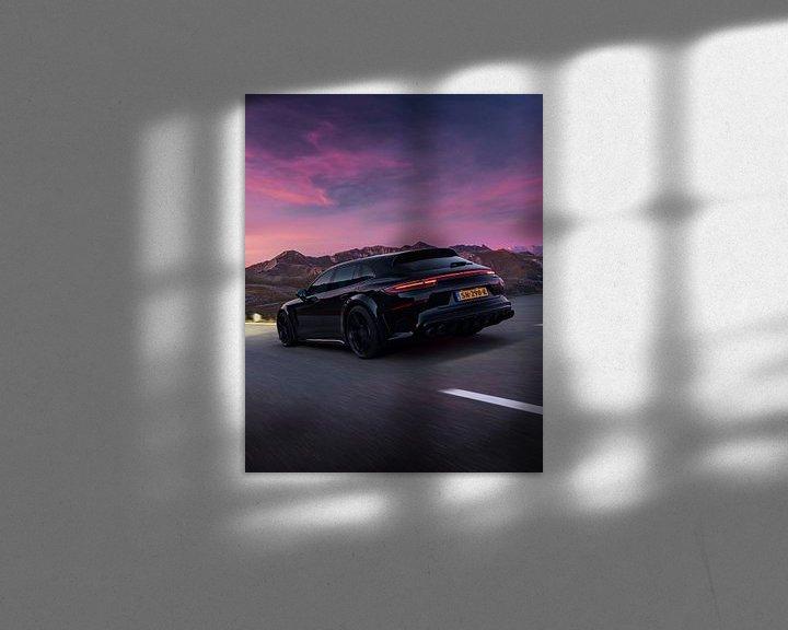 Beispiel: Techart Grand GT Porsche Panamera Turbo S E Hybrid DJ La Fuente von Gijs Spierings